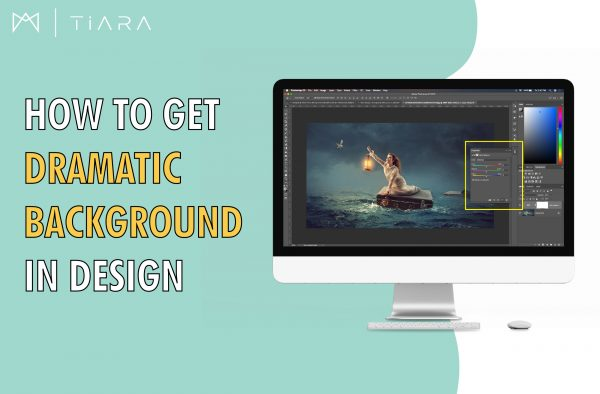 Image: How to Use Dramatic Backgrounds in Design