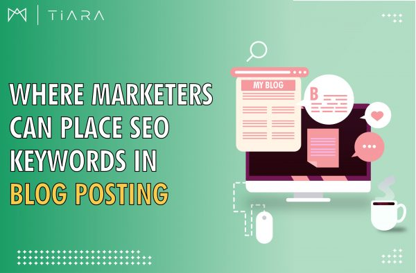 Image Where Marketers Can Place SEO Keywords in Blog Posting